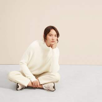 Everlane The Cashmere Waffle Square Turtleneck