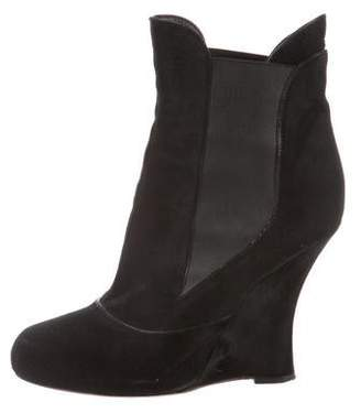 Tabitha Simmons Pony Hair Booties