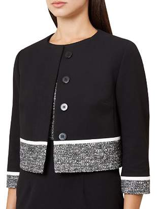 Hobbs London Robyn Tweed-Trim Jacket