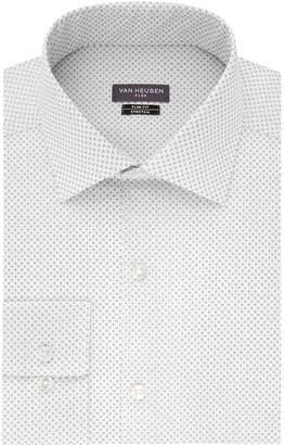 Van Heusen Made To Match Long Sleeve Twill Pattern Dress Shirt - Slim