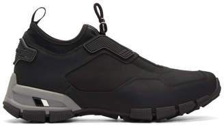 Prada Black Fly Technical Sneakers