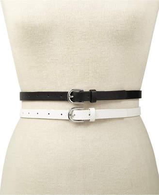 INC International Concepts I.n.c. 2-for-1 Solid Belts
