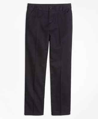 Brooks Brothers Girls Non-Iron Chino Pants