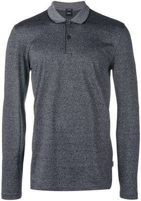 a0f4f57610d Hugo Boss Long Sleeve Polo Shirts - ShopStyle UK
