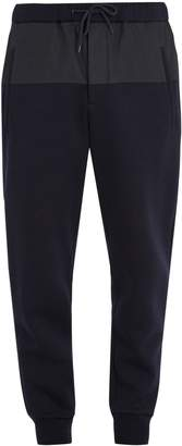 Marni Contrast-panel cotton-blend track pants