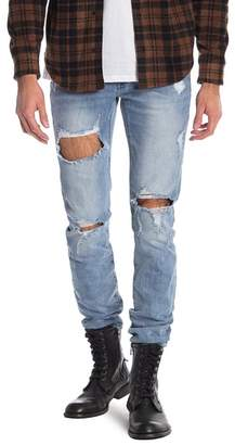 "Neuw Iggy Distressed Skinny Jeans - 32-34\"" Inseam"