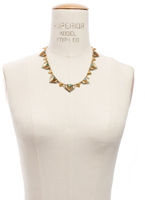 Madewell Chevron Seastone Necklace
