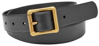 Women's Fossil 'Modern' Roller Buckle Belt $38 thestylecure.com
