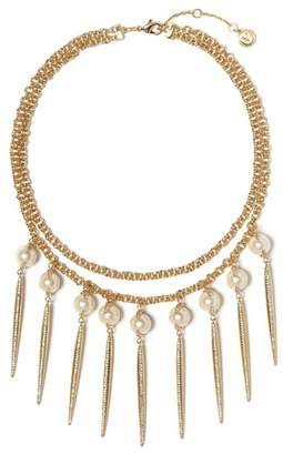 Vince Camuto Faux Pearl Statement Necklace