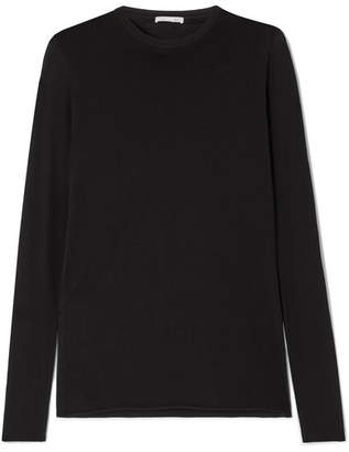 Skin - Essentials Pima Cotton-jersey Pajama Top - Black