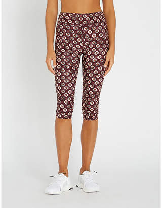 The Upside Turkish Tile print stretch-jersey leggings
