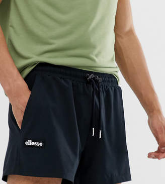 Ellesse Frederico recycled jersey shorts in black exclusive at ASOS