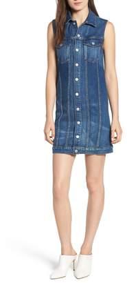 Hudson Jeans Sleeveless Trucker Dress