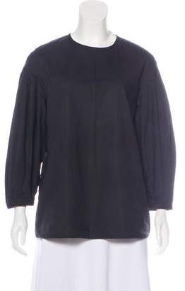 Sofie D'hoore Pleated Long Sleeve Top