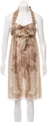 Chanel CC Halter Dress