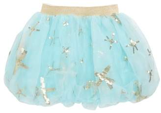 Truly Me Starfish Bubble Tulle Skirt