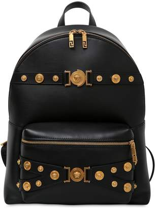 Versace Tribute Leather Backpack