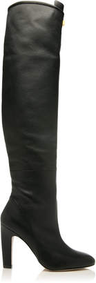 Stuart Weitzman Edie Over-The-Knee Leather Boots