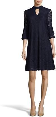 ECI Lace Trapeze Dress