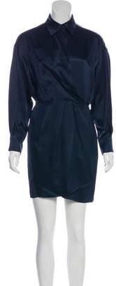 Marc Jacobs Silk Wrap Dress