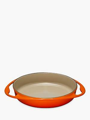 Le Creuset Cast Iron 25cm Tatin Oven Dish, Volcanic