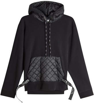 Valentino Hoody with Quilted Pocket