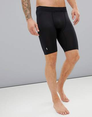 e8c02d477a New Look SPORT running shorts in black