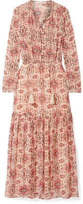 Vanessa Bruno Jelyssa Printed Silk-crepon Maxi Dress - Red