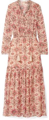 Vanessa Bruno - Jelyssa Printed Silk-crepon Maxi Dress - Red