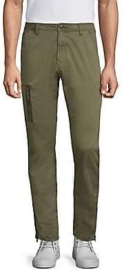 John Varvatos Men's Slim-Fit Zip-Pocket Pants