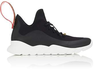 Fendi Men's Rubber-Strap Tech-Knit Sneakers