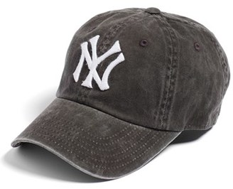 Women's American Needle New Raglan New York Yankees Baseball Cap - Black $28 thestylecure.com