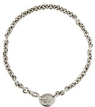 Tiffany & Co. Oval Tag Choker