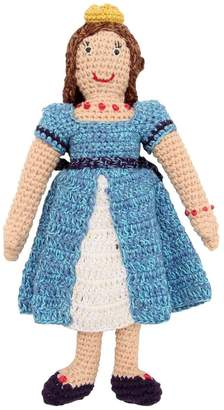 Anne Claire Hand-Crocheted Cotton Doll