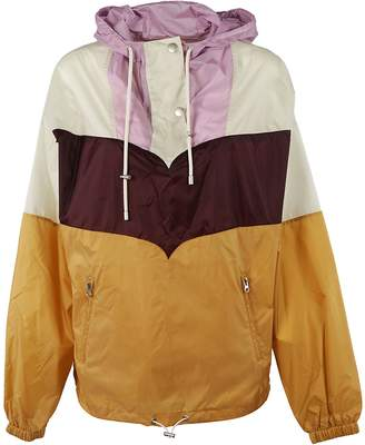 Isabel Marant ã Toile Color Block Raincoat
