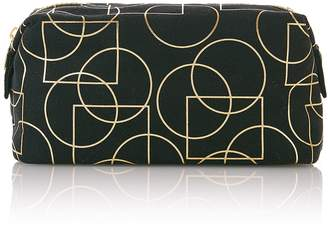 M&S CollectionMarks and Spencer Black Art Deco Make-Up Bag