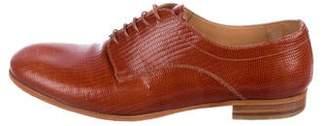 Maison Margiela Embossed Derby Shoes
