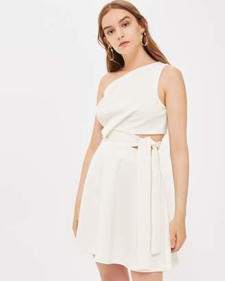 Topshop One Shoulder Prom Dress