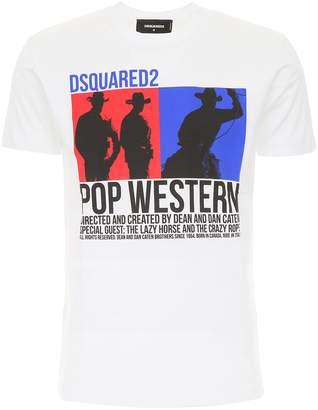 DSQUARED2 Pop Western Print T-Shirt