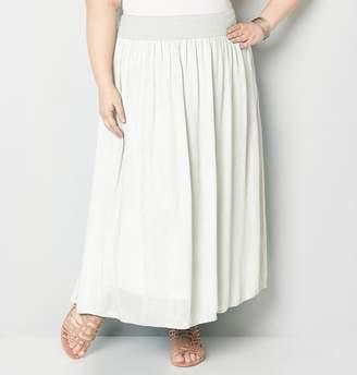 Avenue Crinkle Maxi Skirt