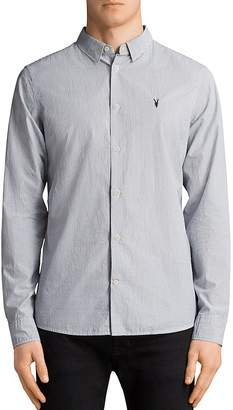 AllSaints Kelso Slim Fit Button-Down Shirt