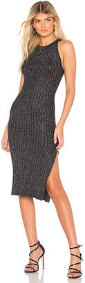 by the way. Lizzie Lurex Knit Midi Dress