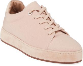 Loro Piana Nauges Cashmere Sneakers