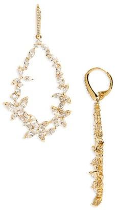 Women's Nadri Papillon Drama Drop Earrings $160 thestylecure.com