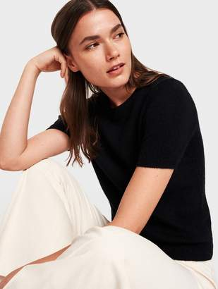 White + Warren Cashmere Fitted Tee