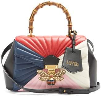 Gucci Queen Margaret bamboo-handle leather shoulder bag