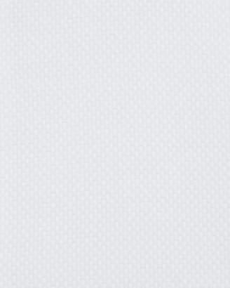 Neiman Marcus Men's Trim-Fit Regular-Finish Dobby Dress Shirt, White