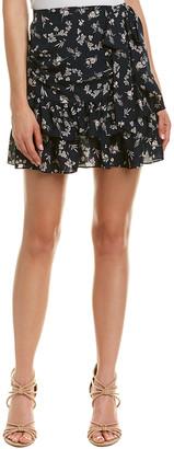 Cinq à Sept Carson Silk Mini Skirt