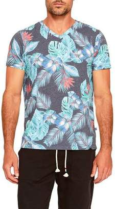 Sol Angeles Men's Night Blooms V-Neck T-Shirt