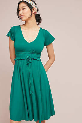 Maeve Resfeber Flutter-Sleeve Dress